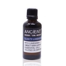Massageolja Sleepy Lavender, 50 ml