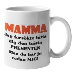 Mugg - Mamma presenten