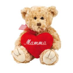 Nalle med rött hjärta, Mamma