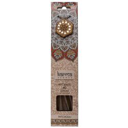Rökelsestickor inkl. hållare, Karma - Patchouli