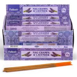 Rökelsestickor, Tulasi - Nag Champa & Lavender