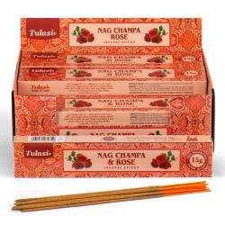 Rökelsestickor, Tulasi - Nag Champa & Rose