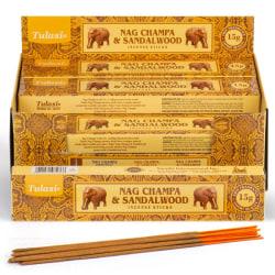 Rökelsestickor, Tulasi - Nag Champa & Sandalwood