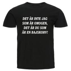 T-shirt - Det är inte jag som är omogen Storlek 3XL