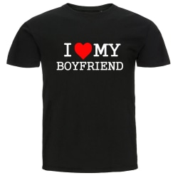 T-shirt - I Love My Boyfriend L