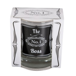 Whisky glas - The Boss transparent