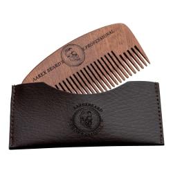 Aarex Beard Mahogany Beard Comb # 2