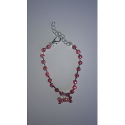 Halsband Hund Pink M