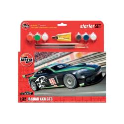 Airfix Startset Jaguar XKR GT3 1:32