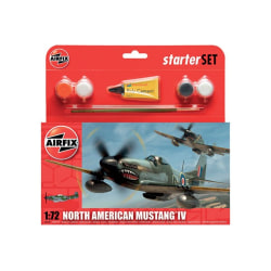 Airfix Startset North American Mustang IV Modellbyggsats