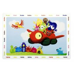 Babblarna bordstablett multifärg