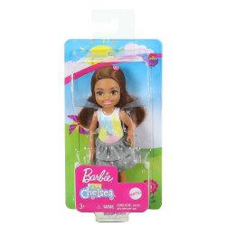 Barbie Chelsea Brunhårig flicka I believe in unicorns GHV63