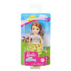 Barbie Chelsea Flicka med kjol sengångarmotiv GHV66