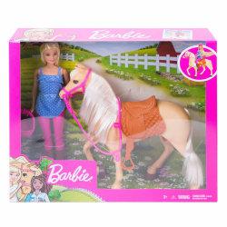 Barbie Docka med häst