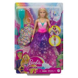 Barbie Dreamtopia 2-in-1 Docka Prinsessa GTF92