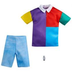 Barbie Fashion Ken Kläder Blockfärgad skjorta och jeansshorts GR