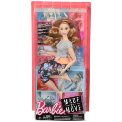 Barbie Made to Move Ställbar docka FTG84