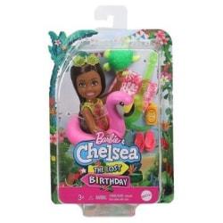 Barbie The Lost Birthday Chelsea med badring Flamingo GRT82