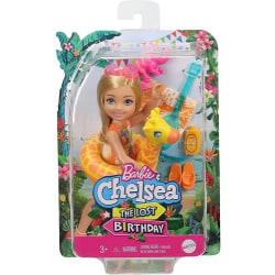 Barbie The Lost Birthday Chelsea med badring Giraff GRT81