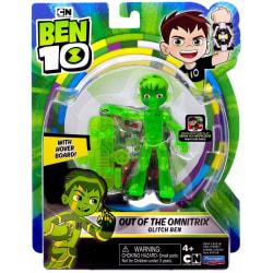 Ben 10 Figur Out of the Omnitrix Glitch Ben