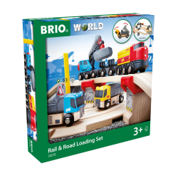 Brio Rail & Road Lastset 33210