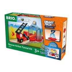 Brio Smart Tech Sound Rescue Action Tunnel Kit 33976