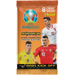 EURO 2020 Kick Off 2021 Booster Fotbollsbilder