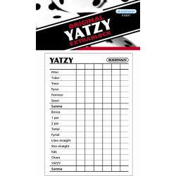 Extrablock till Yatzy