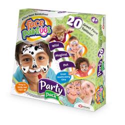 Face Paintoos Ansiktstatueringar Party Pack