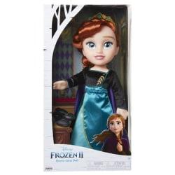 Frozen 2 Anna Stor Docka Grön klänning 20878