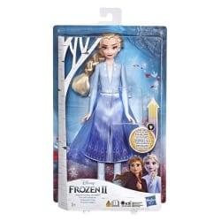 Frozen 2 Elsa Docka med ljus