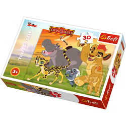 Happily forward Lion King Pussel 30 bitar 18210