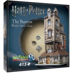 Harry Potter 3D Pussel The Burrow Weasley Family Home 415 bitar