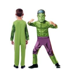Hulken Utklädning L 7-8 år