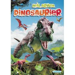 Målarbok Dinosaurier multifärg