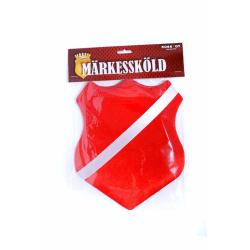 Märkessköld, Röd