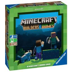 Minecraft Builders & Biomes Brädspel