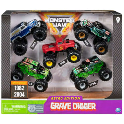 Monster Jam Retro Edition Grave Digger 5-pack