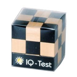 Orm-kub Svart/natur 3x3