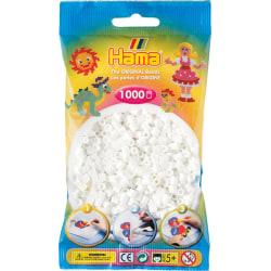 Pärlor till pärlplatta Hama Midi Vit 1000st 207-01 Vit