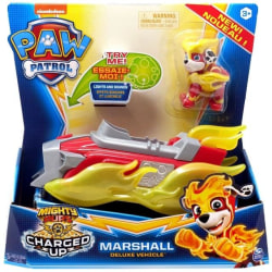 Paw Patrol Charged Up Marshall Deluxe Fordon
