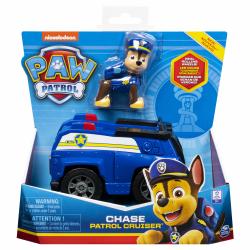 Paw Patrol Figur med fordon Chase