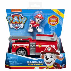 Paw Patrol Figur med fordon Marshall