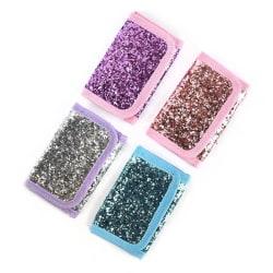 Plånbok Glitter Rosa med rosa glitter Rosa med rosa glitter