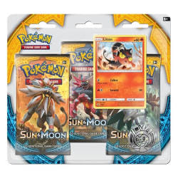 Pokemon 3-pack Sun & Moon Litten