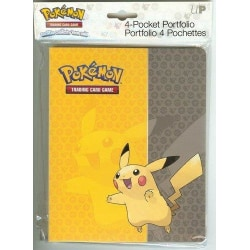 Pokemon pärm 4-pocket Pikachu AW8963