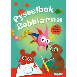 Pysselbok med klistermärken Babblarna multifärg