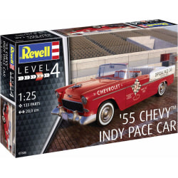Revell 1955 Chevy Indy Pace Car 1:25