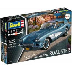 Revell 1958 Corvette Roadster 1:25