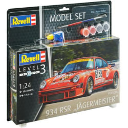 "Revell Model-Set Porsche 934 RSR ""Jägermeister"" 1:24"